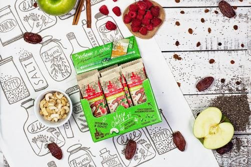 The need for the content of inulin in fruit bars