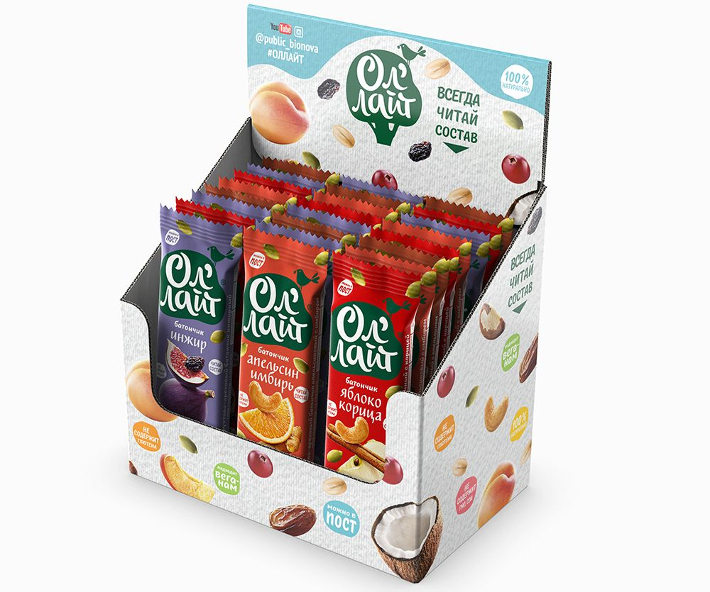 Bars Ol'Light® Mix - 25 pcs.